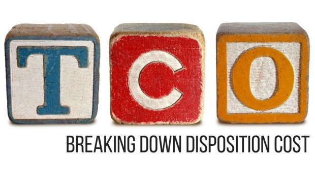 TCO Defined Part 2 (3/4) – Breaking Down Disposition Cost