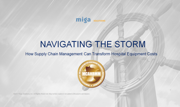 MCAHRMM Fall Conference Recap: How Supply Chain Management Can Transform Hospital Equipment Costs