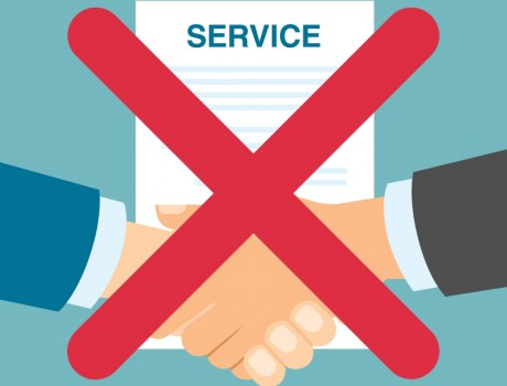 Taken Out of Service? Cancel Your Service Contracts