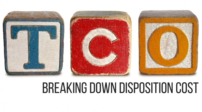 TCO Defined Part 2 (3/4) - Breaking Down Disposition Cost